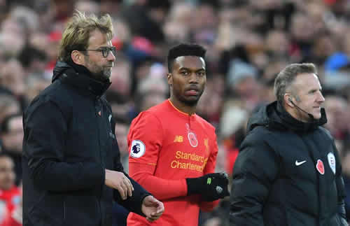 Jurgen Klopp has decided what Liverpool will do with Daniel Sturridge in January