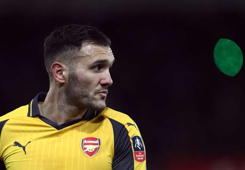 Lucas Perez ready to leave Arsenal in search of regular football
