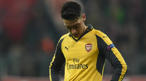 Ozil has been made a scapegoat at Arsenal - agent