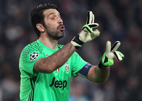 Buffon only fears Leicester in Champions League quarter-finals