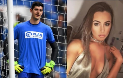 Stitch up? Sun link Thibaut Courtois to Delaney Royle after split from pregnant partner