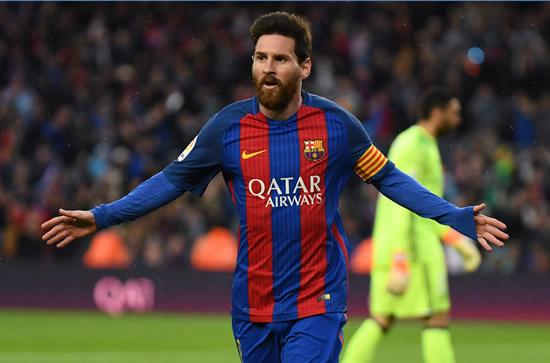 Barcelona 7 - 1 Osasuna: Lionel Messi scores twice as Barcelona run riot against Osasuna
