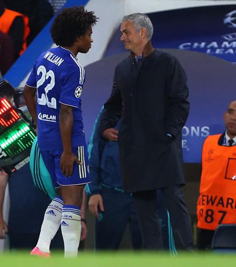 Man United boss Jose Mourinho wants Chelsea star Willian in £35m deal