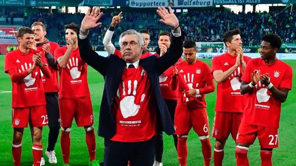 bayern munich story carlo ancelotti regrets over pokal exits despite bundesliga title