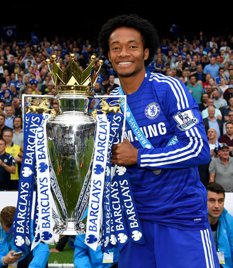 Juan Cuadrado leaves Chelsea to join Juventus in £17m permanent deal