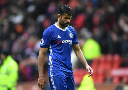 Atletico Madrid to make £26 million bid as they look to 're-sign Diego Costa for January'
