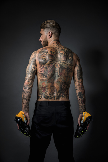 Discover the secrets of Sergio Ramos' tattoos - 7M sport