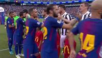 Barcelona beat Juventus 2-1 in the International Champions Cup
