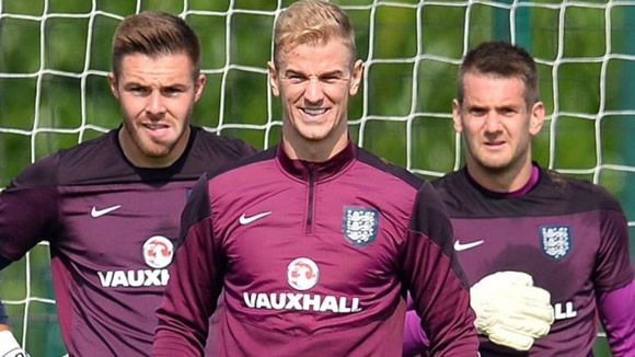 Joe Hart exclusive: West Ham goalkeeper eager to keep England No 1 spot