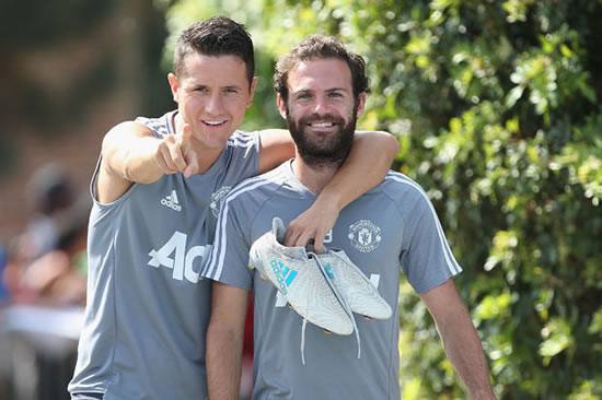 Man Utd confident of wrapping up new deals for Ander Herrera and Juan Mata