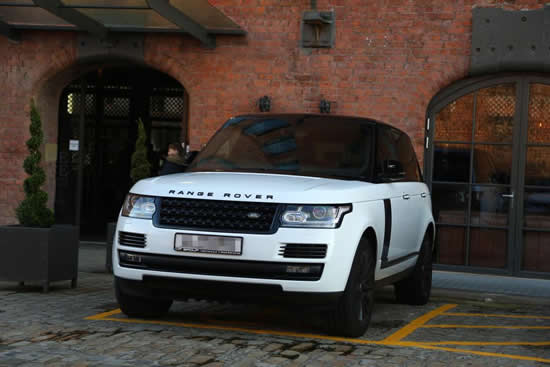 Alex Oxlade-Chamberlain risks ticket as he parks luxury Range Rover in disabled bay in Liverpool