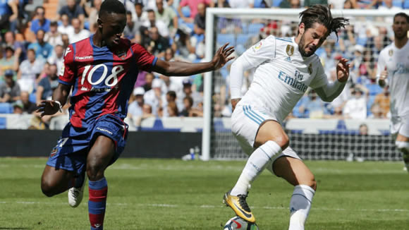 Isco's €2 million boots up for grabs