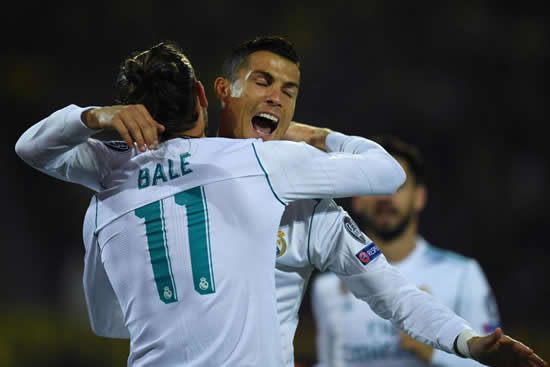 Borussia Dortmund 1 - 3 Real Madrid: Ronaldo double sets up Real victory