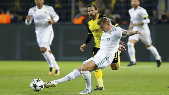 Real Madrid near perfection in Dortmund
