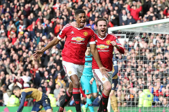 Man Utd star Juan Mata backing Marcus Rashford to go right to the top of the game