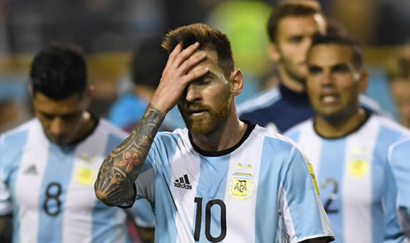 Lionel Messi's Argentina in danger of missing the World Cup after stalemate with Peru