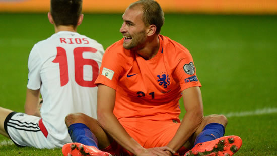 World Cup Qualifiers: Holland on the brink of elimination despite Belarus win