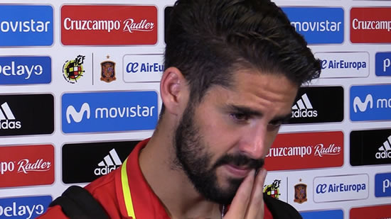 Isco: The whistling of Pique? That's what he opens himself up to