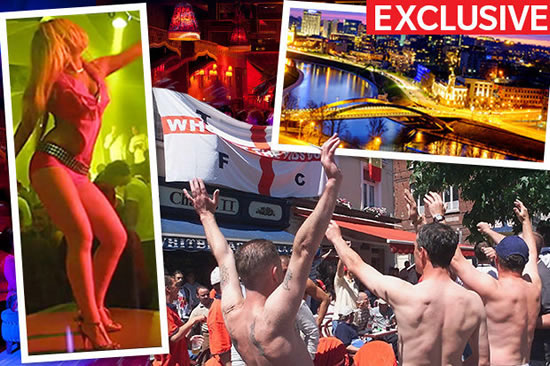 Three Lions SEX tour: England fans to booze it up in Europe's brothel capital THIS weekend