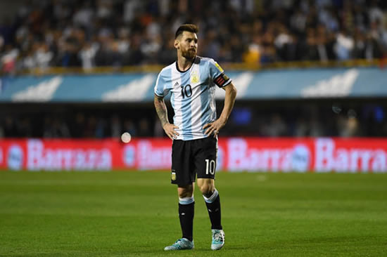 Updates from South America as Messi's Argentina look to qualify