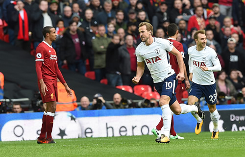 Tottenham Hotspur 4 - 1 Liverpool: Two more goals for Harry Kane as Spurs highlight Liverpool's defensive problems