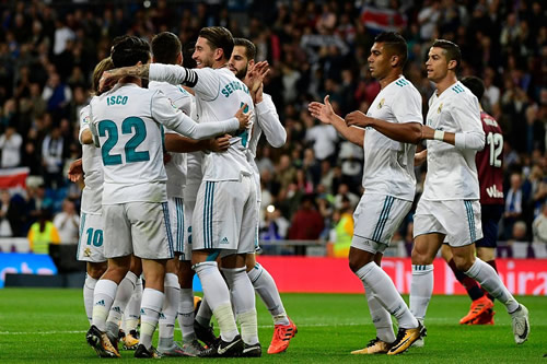 Real Madrid 3 - 0 Eibar: Asensio takes centre stage as Real brush aside Eibar