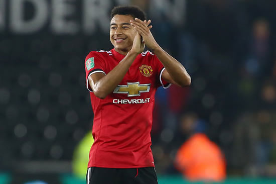 Swansea 0 Man Utd 2: Lingard double sends Red Devils into Carabao Cup quarter-finals