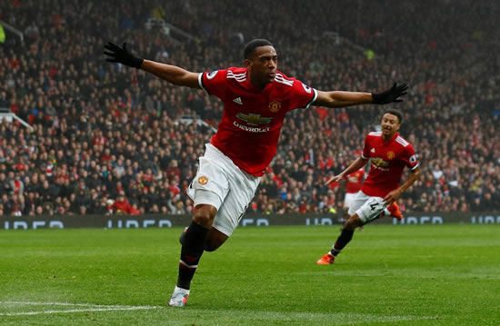 Manchester United 1 - 0 Tottenham Hotspur: Martial strikes late as United see off Spurs