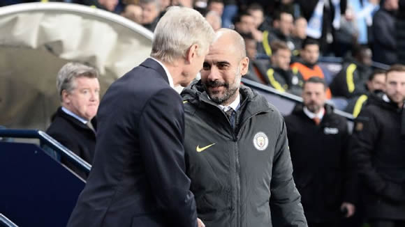 Pep Guardiola: 'Invincibles' record belongs to Arsenal, Arsene Wenger