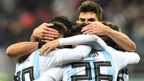 Russia 0 - 1 Argentina: Sergio Aguero goal sees Argentina to victory in Russia friendly