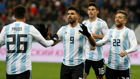 Aguero taken to hospital after fainting during Argentina game