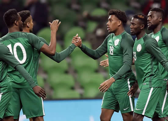 Argentina 2 Nigeria 4: Arsenal star Alex Iwobi nets brilliant brace to spare goalkeeper Daniel Akpeyi's blushes