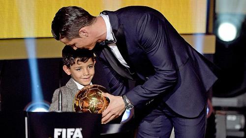 Cristiano Ronaldo: I want seven children and seven Ballon d`Or awards
