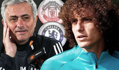 Manchester United boss Jose Mourinho plots SHOCK move for Chelsea star David Luiz