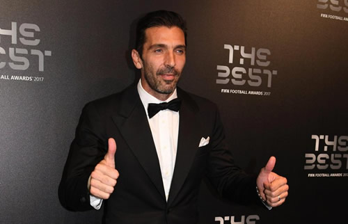Gianluigi Buffon has revealed who convinced him to become a goalkeeper