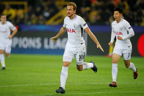 Borussia Dortmund 1 Tottenham 2: Spurs come from behind to secure top spot in Group H
