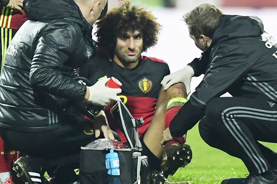 Manchester United star Marouane Fellaini suing for £2m after 'boots hurt feet