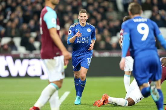 West Ham United 1 - 1 Leicester City: Cheikhou Kouyate gives David Moyes first point as boss