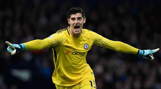 Conte calls for clarity from Chelsea on Courtois deal
