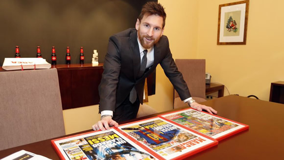 Messi in private: his wish for anonymity, siestas and his bad habit