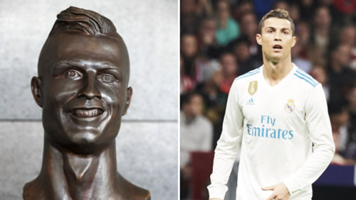 Cristiano Ronaldo Has Been Given Another Bust
