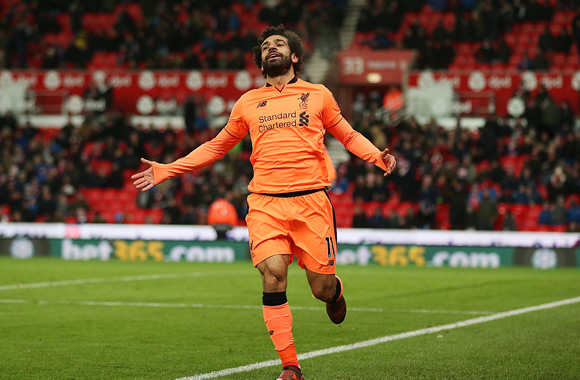 Stoke City 0 - 3 Liverpool: Mohamed Salah comes off the bench to score twice as Reds win at Stoke