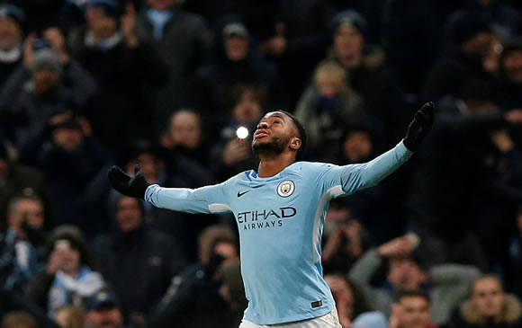 Manchester City 2 - 1 Southampton: Another Sterling late effort restores City's eight-point lead at top of table
