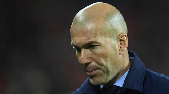 Zidane are 'disappointed' for Real Madrid players