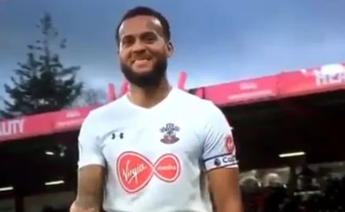 Southampton fans absolutely loved Ryan Bertrand's throw in at Bournemouth