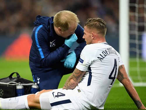 Toby Alderweireld could be out for 14 weeks