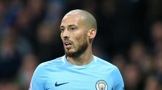 Silva out of Manchester City squad for Shakhtar as youngsters get nod