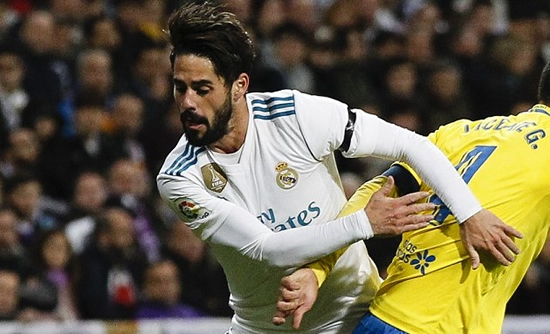 Ronaldo tells Real Madrid coaches: We're better without Isco