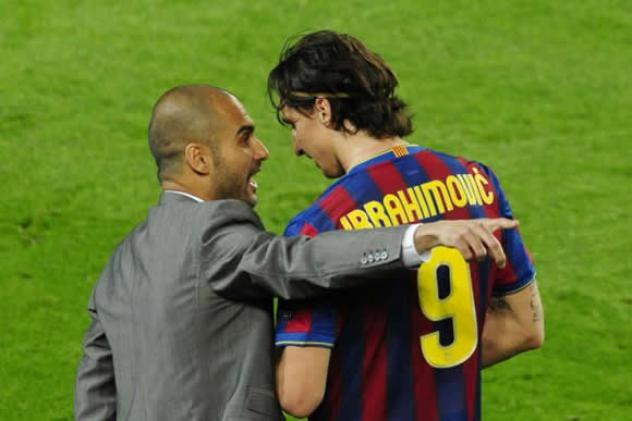 Pep Guardiola is the most 'immature' coach I've worked with - Zlatan Ibrahimovic