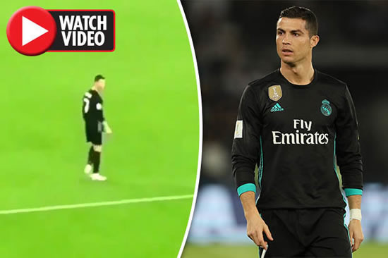 Cristiano Ronaldo has Lionel Messi chant yelled at him by fans – his reaction says it all